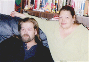 Faith Roderick and Eugene Pomeroy