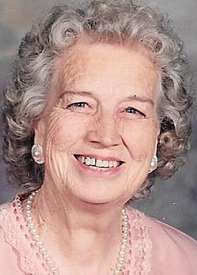 Margaret 'Peggy' Parke