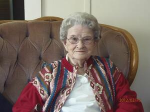 Leona Gertrude Gertie Thompson Epperly