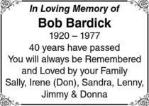 Bob  Bardick