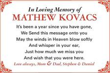 Mathew  Kovacs