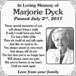 Marjorie  Dyck