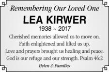 Lea  Kirwer