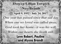 Doreen  Towpich