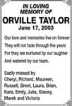 Orville  Taylor