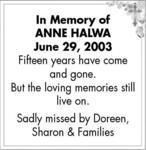 Anne  Halway