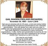 Gail-Sharon  Froland