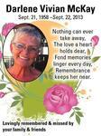 Darlene Vivian  McKay