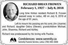 Richard  Frowen