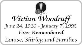 Vivian  Woodruff