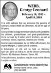 George-Leonard  Webb
