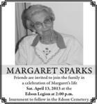 Margaret  Sparks