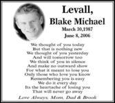 Blake  Levall