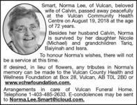Norma Lee  Smart