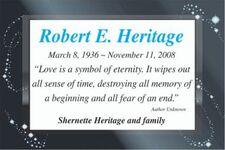 Robert E  HERITAGE