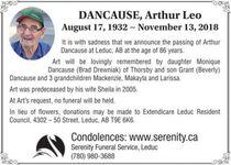 Arthur Leo  DANCAUSE