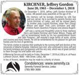 Jeffrey Gordon  KIRCHNER