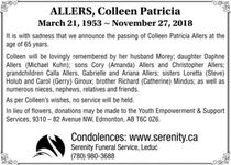 Colleen Patricia  ALLERS