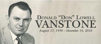 Donald  VANSTONE