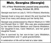 Georgina  Muir