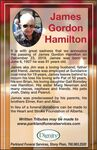 James Gordon  HAMILTON