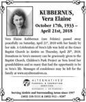 Vera  Kubbernus