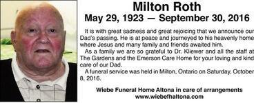 Milton  Roth