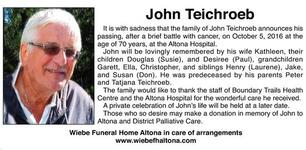John  Teichroeb