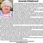 Amanda  Hildebrand