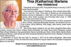 Tina (Katerina)  Martens