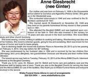 Anne  Giesbrecht