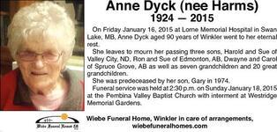 Anne  Dyck
