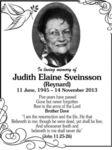 Judith Elaine  Sveinsson