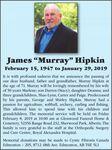 "James ""Murray""  HIPKIN"