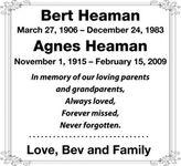 Bert  HEAMAN