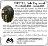 Dale Raymond December  STELTER