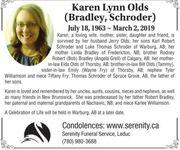 Karen Lynn(Bradley  OLDS