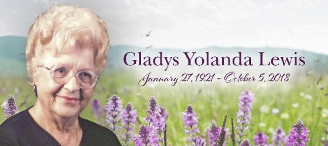 Gladys  LEWIS