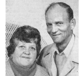 Mae and Gordon  PATERSON