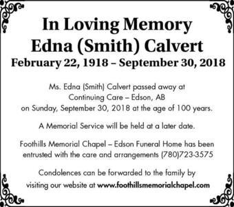 Edna  Calver