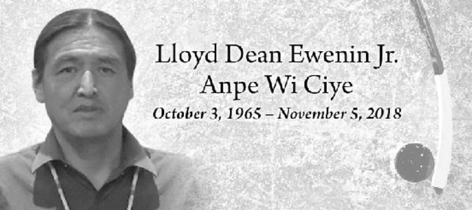 LLOYD DEAN JR.  EWENIN