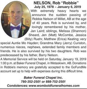"Rob ""Robbie""  NELSON"