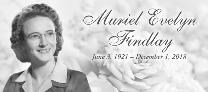 Muriel  FINDLAY