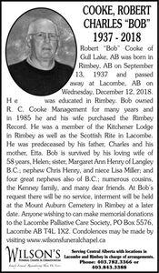 Robert Charles  COOKE