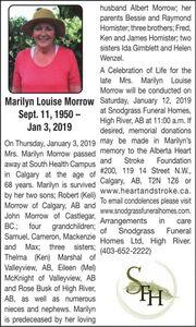Marilyn Louise  MORROW