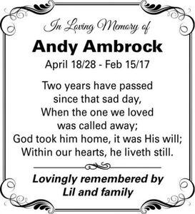 Andy  AMBROCK