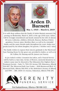 Arden D  BARNETT