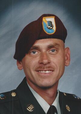 Command Sergeant Major Brian Scott Shrout