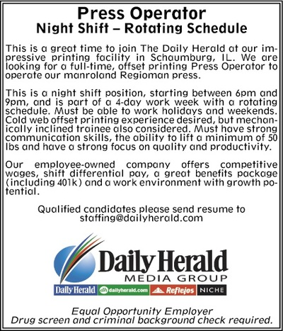 Daily Herald | Classifieds | Employment