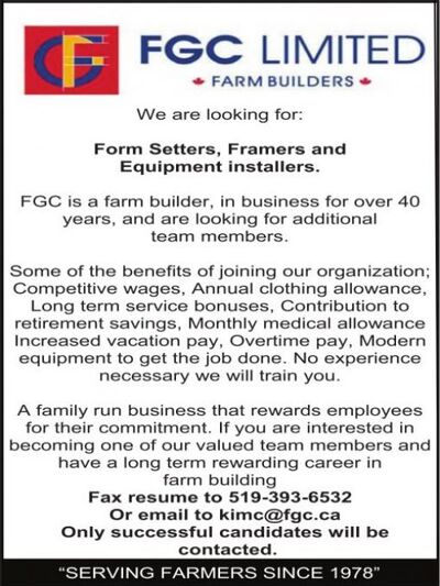 Stratford Beacon Herald | Classifieds | Employment